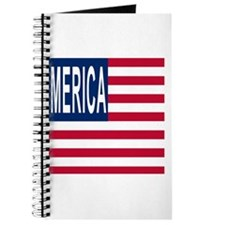 MERICA with Merican Flag Journal