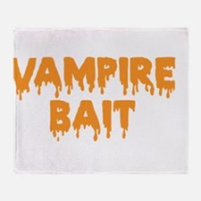 Vampie Bait Throw Blanket