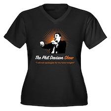 Phil Dark Shirt Plus Size T-Shirt