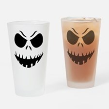 Halloween Pumpkin Drinking Glass