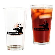 The Phil Davison Show Drinking Glass