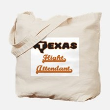 Texas Flight Attendant Tote Bag