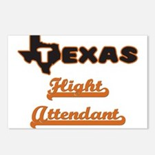Texas Flight Attendant Postcards (Package of 8)