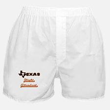 Texas Flight Attendant Boxer Shorts