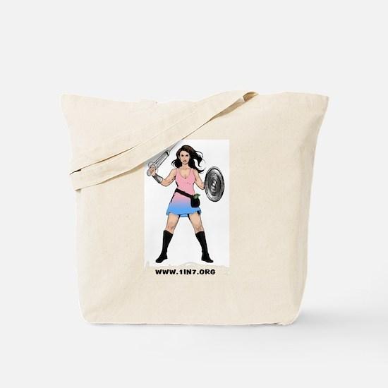 1in7InfertilityWarrior Tote Bag