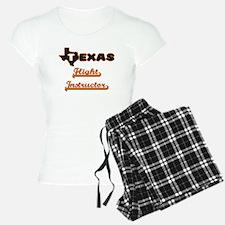 Texas Flight Instructor Pajamas
