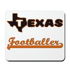 Texas Footballer Mousepad