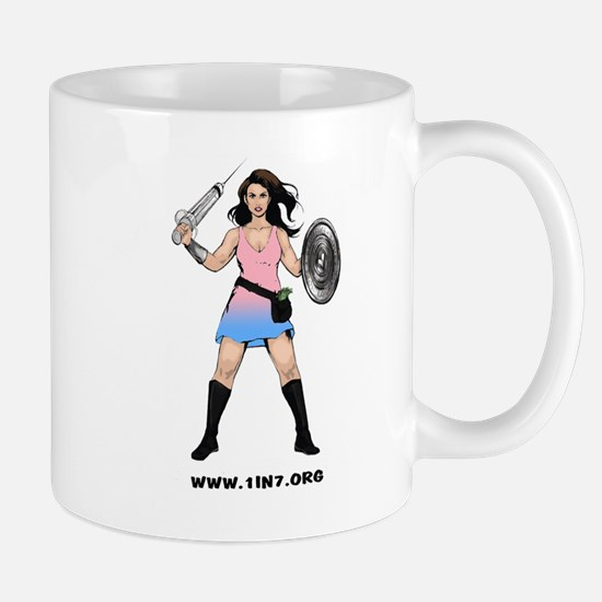 Infertility Warrior 1in7 Mugs