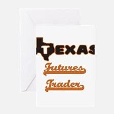 Texas Futures Trader Greeting Cards