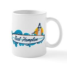 East Hampton - New York. Mug Mugs