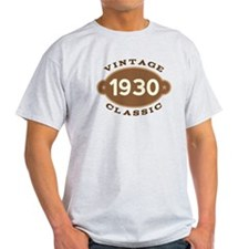 1930 Birth Year Birthday T-Shirt