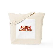 Rumba Dancing Rocks Tote Bag