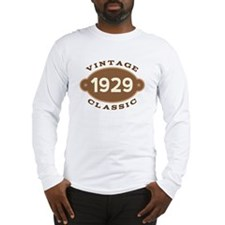 1929 Birth Year Birthday Long Sleeve T-Shirt