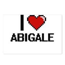 I Love Abigale Digital Re Postcards (Package of 8)