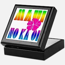Maui No Ka Oi Keepsake Box