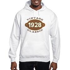 1928 Birth Year Birthday Hoodie