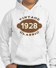 1928 Birth Year Birthday Hoodie
