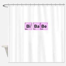 Periodic Table Words Shower Curtain