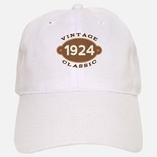 1924 Birth Year Birthday Baseball Baseball Cap