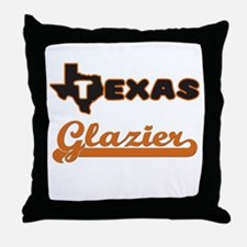 Texas Glazier Throw Pillow