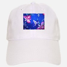 Hawaain Flowers - Large Baseball Baseball Cap