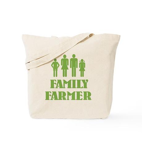 Family Farmer Tote Bag