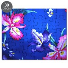 Hawaain Flowers - Large Puzzle