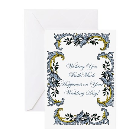 WEDDING AND BRIDAL SHOWERS Greeting Cards (Package