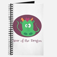 Cartoon Year of the Dragon Journal