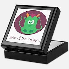 Cartoon Year of the Dragon Keepsake Box