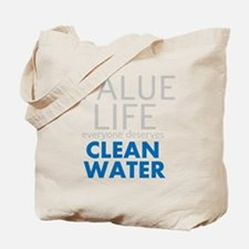 Value Life - Clean Water Tote Bag