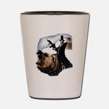 Abraham Lincoln Shot Glass