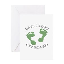 Earthling On Board by LH Greeting Cards