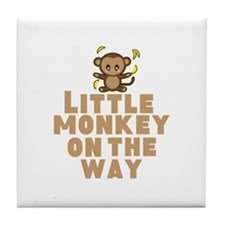 Little Monkey Tile Coaster