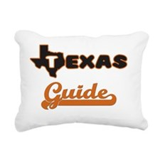 Texas Guide Rectangular Canvas Pillow