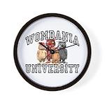 Wombania University Wall Clock
