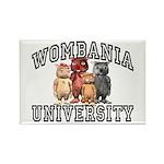 Wombania University Rectangle Magnet