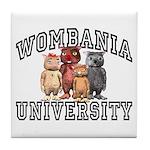 Wombania University Tile Coaster
