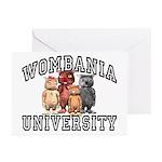 Wombania University Greeting Cards (Pk of 10)