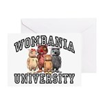 Wombania University Greeting Card