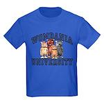 Wombania University Kids T-Shirt Dark Colored