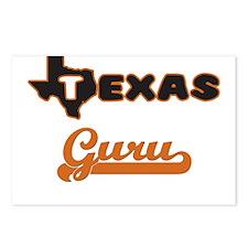Texas Guru Postcards (Package of 8)