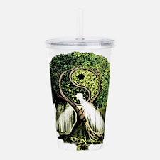 Yin Yang Tree Acrylic Double-wall Tumbler