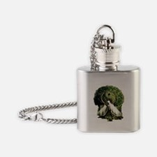 Yin Yang Tree Flask Necklace