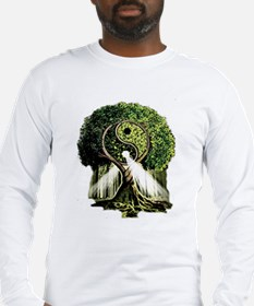 Yin Yang Tree Long Sleeve T-Shirt