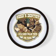 elk hunting humor gifts Wall Clock
