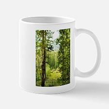 Unique Yosemite meadows Mug