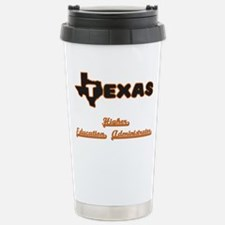 Texas Higher Education Travel Mug