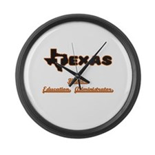 Texas Higher Education Administra Large Wall Clock