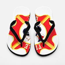 Fire Department Flip Flops